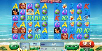 Sunset Beach Slot von Playtech